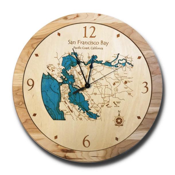 San Francisco Wood Clock