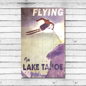 Flying in Lake Tahoe