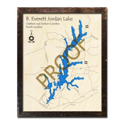 B Everett Jordan Lake