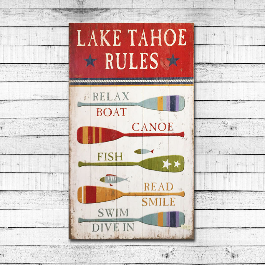 Lake Tahoe Rules