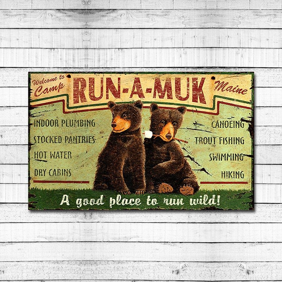 Camp Run-a-Muk Maine