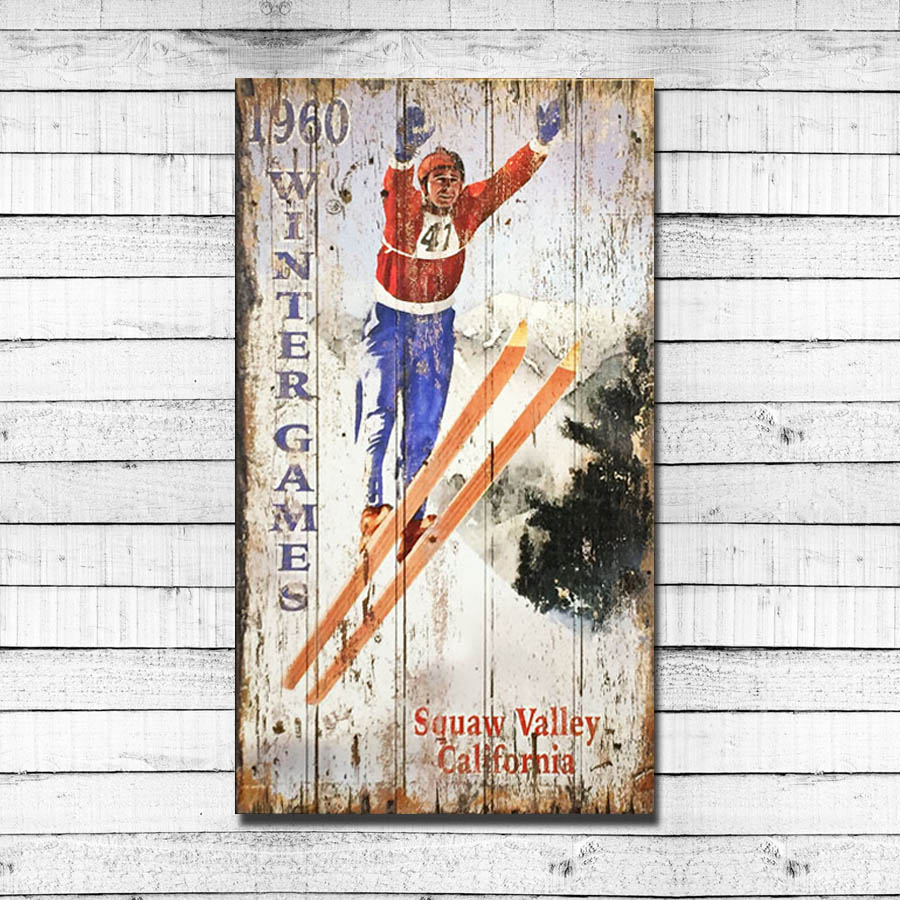 1960 Winter Games -Squaw Valley