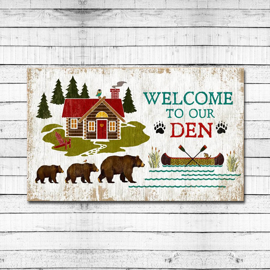 Welcome to our Den