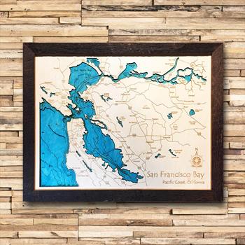 San Francisco Wood Map