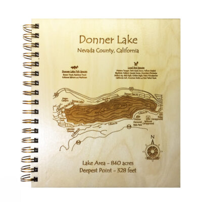 Donner Lake wood journal