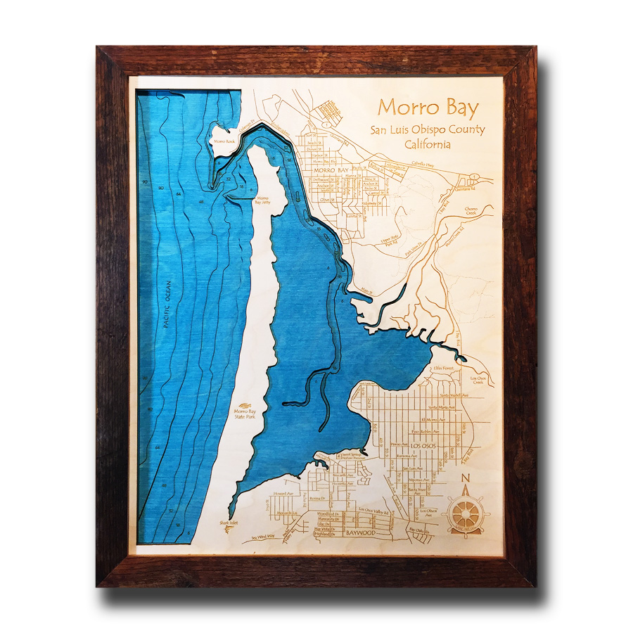 Morro Bay Nautical Map