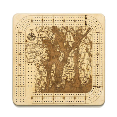 Narragansett Bay Cribbage Board