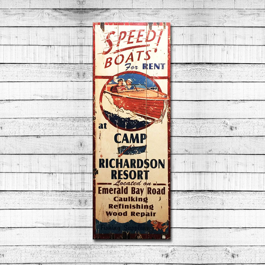 Speed Boats – Camp Richardson