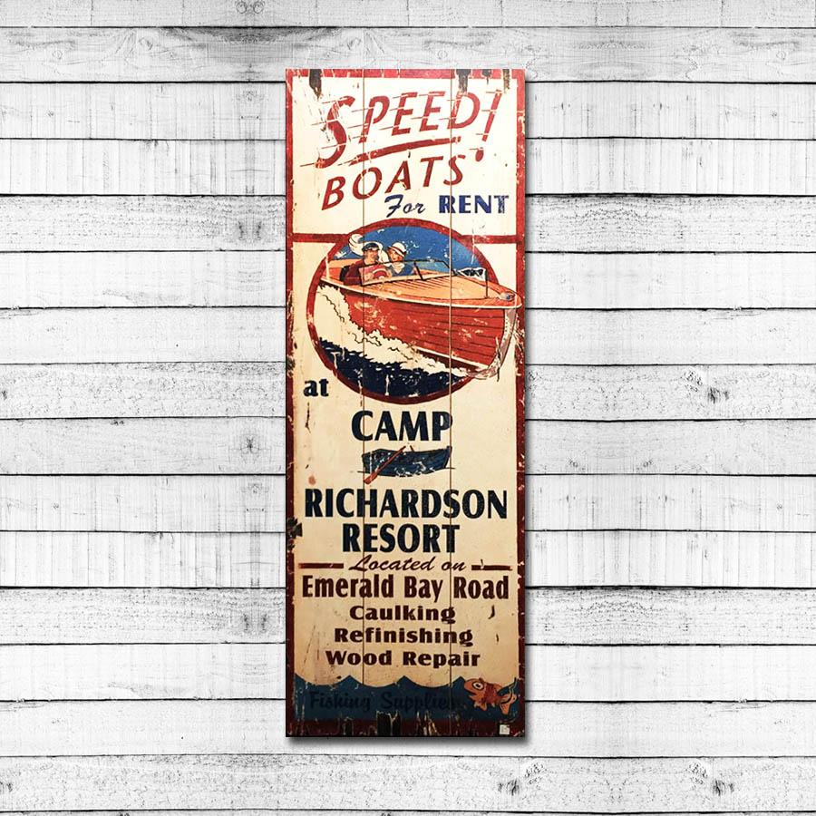 Speed Boats – Camp Richardson