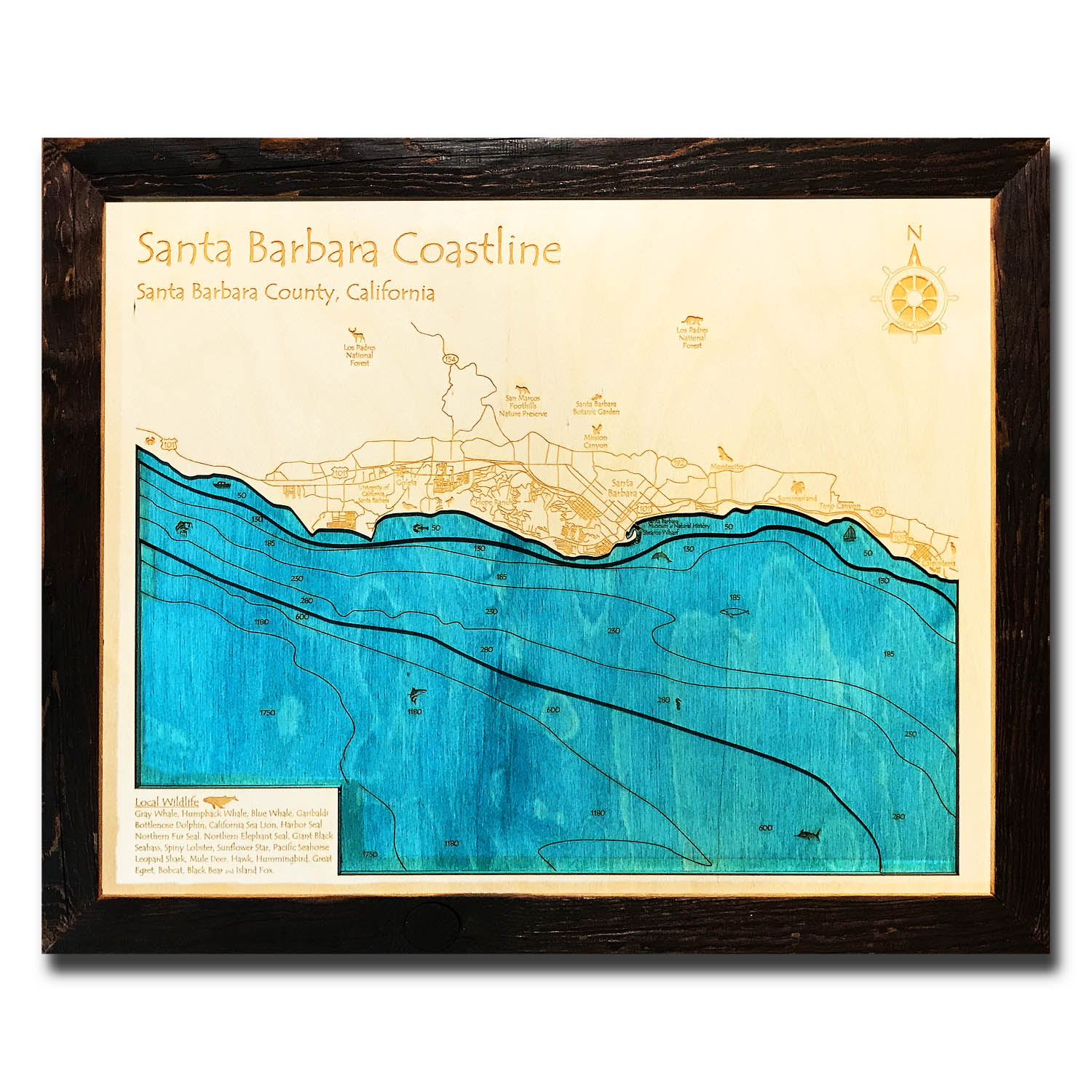 Santa Barbara Nautical Map