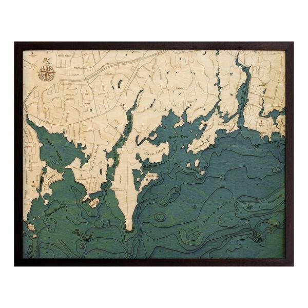 Hardwood Flooring Darien Ct: Darien Connecticut - Long Island Sound Wood Map