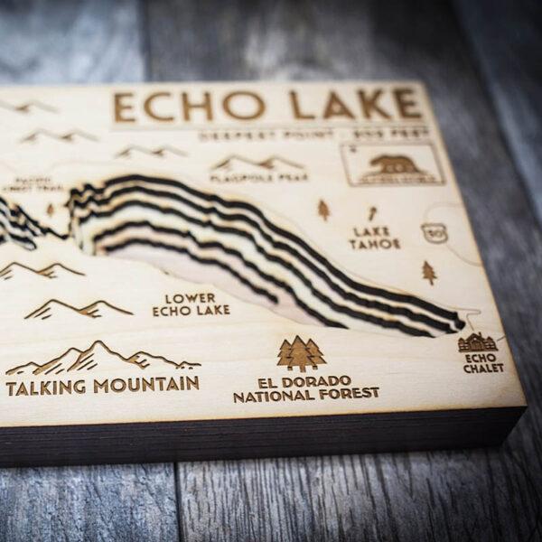 Echo Lake Nautical Map