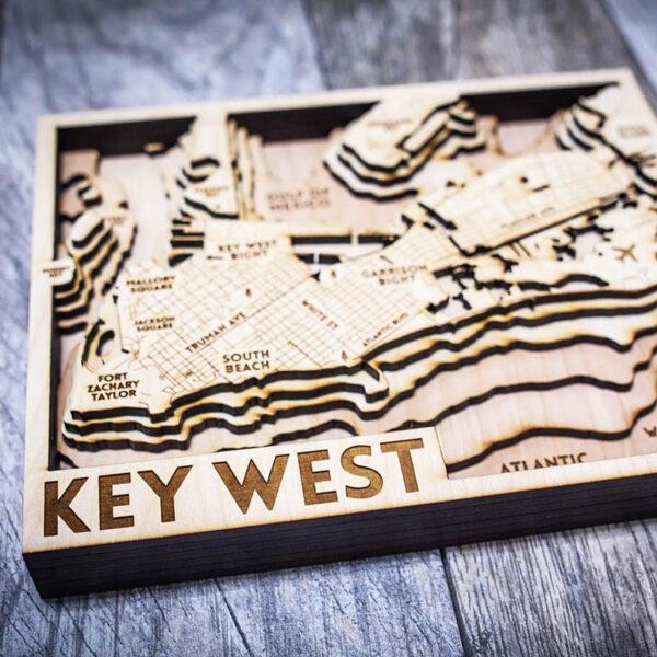 key west 3d chart