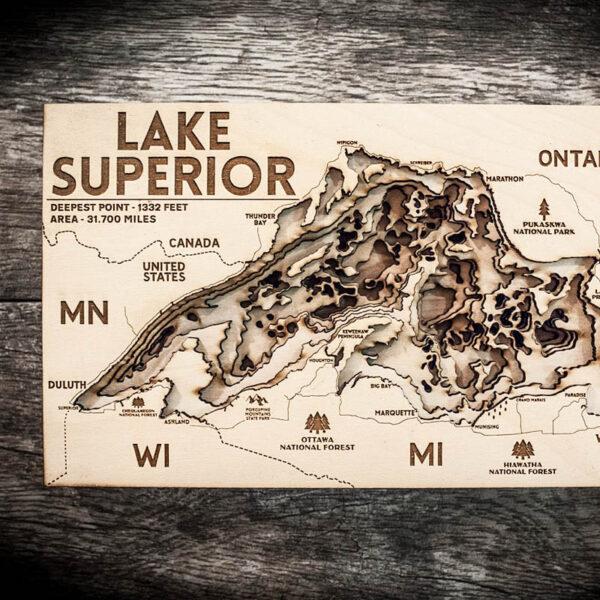 Lake Superior Nautical Map
