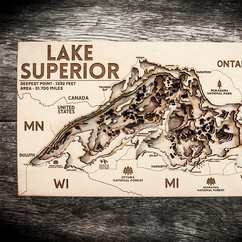 Lake Super Map