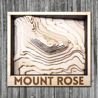 Mount Rose Wood Map, Mount Rose Ski are gift