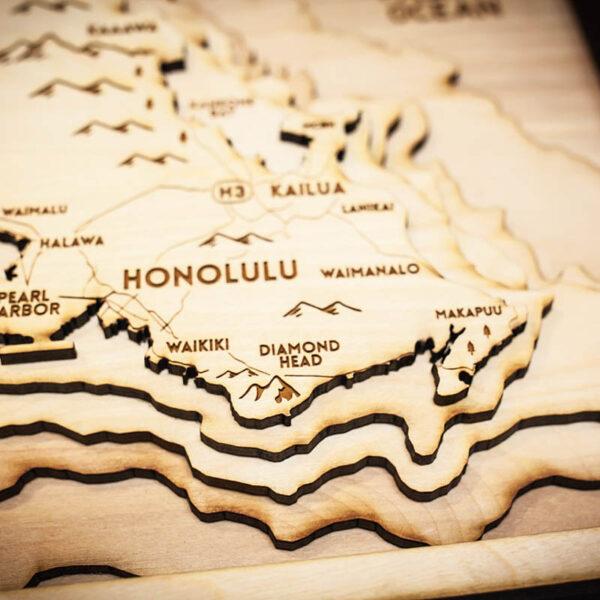 Oahu Wood Chart