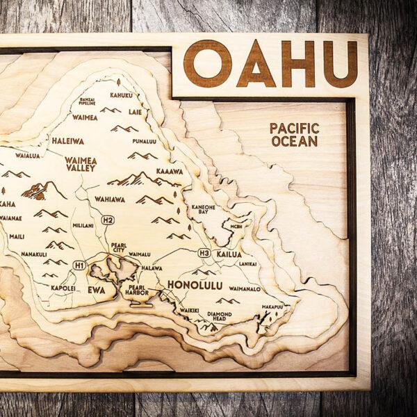 Oahu 3d Map