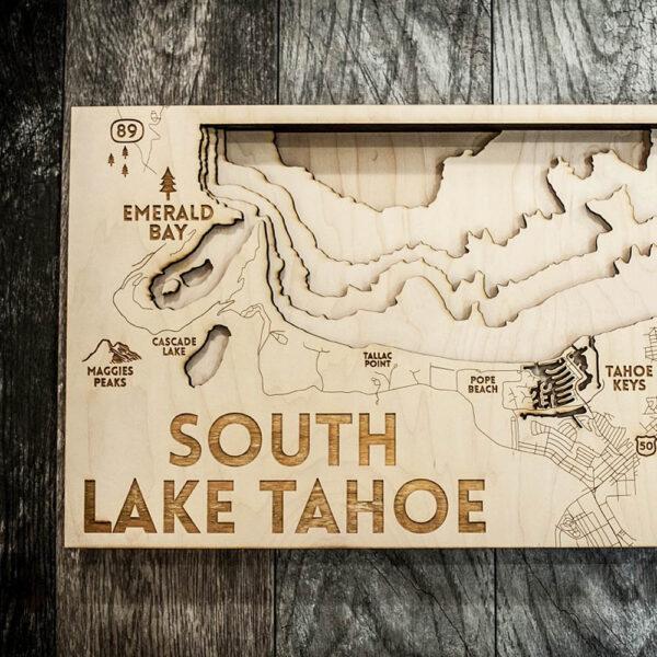 south lake tahoe 3d nautical map