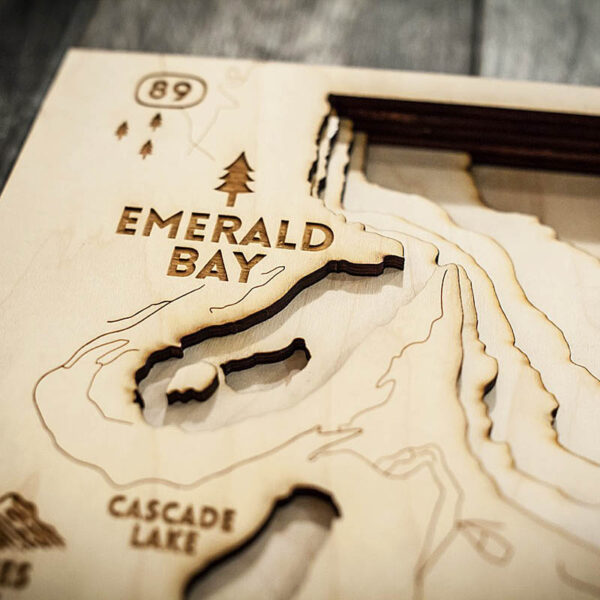 south lake tahoe wood map zoomed in