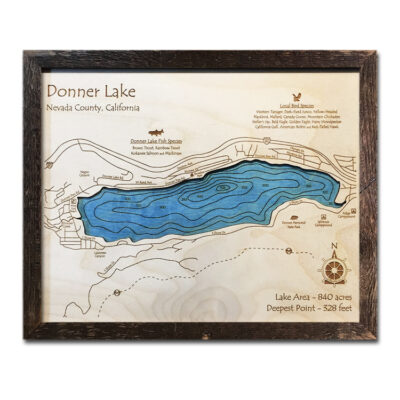 Donner Lake Wood Map