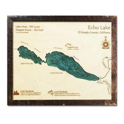 Echo Lake Wood Map