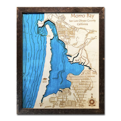 Morro Bay Wood Map