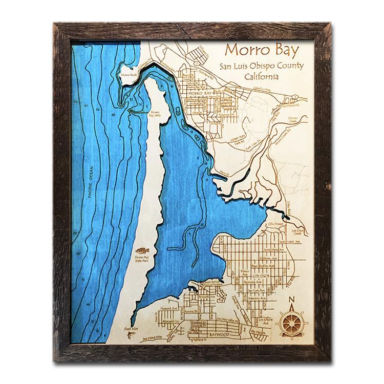 Morro Bay Wood Map
