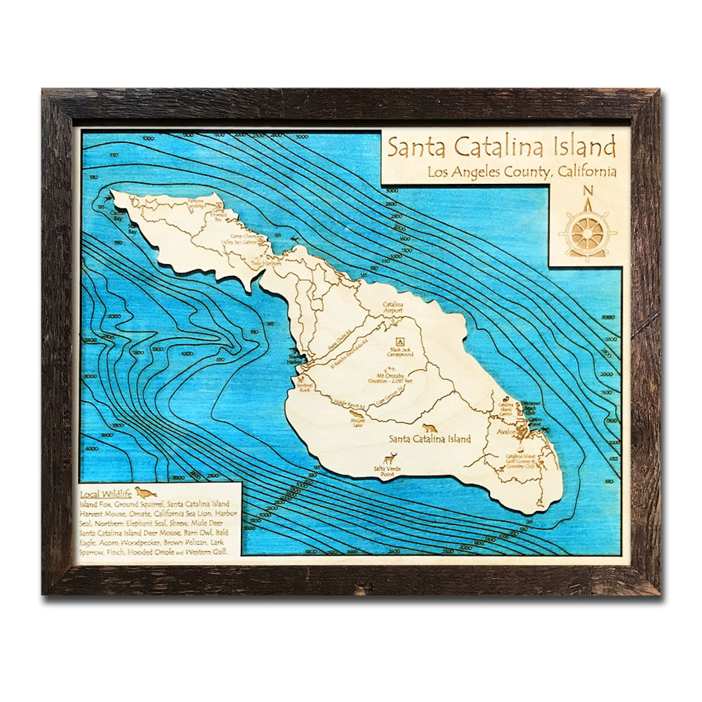 Nautical Wood Map Sale   3D Topographic Wood Charts on Sale on