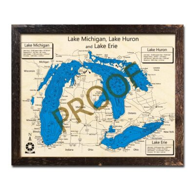 Great Lakes Wood Maps