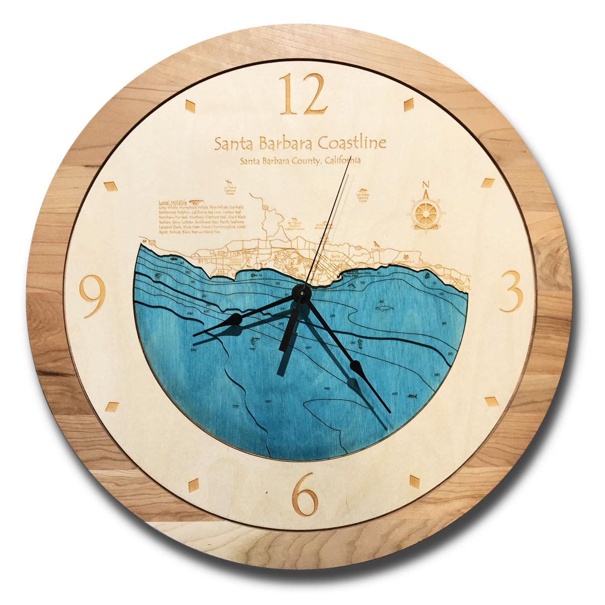 santa barbara clock