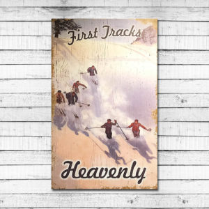 First Tracks – Heavenly Mountain