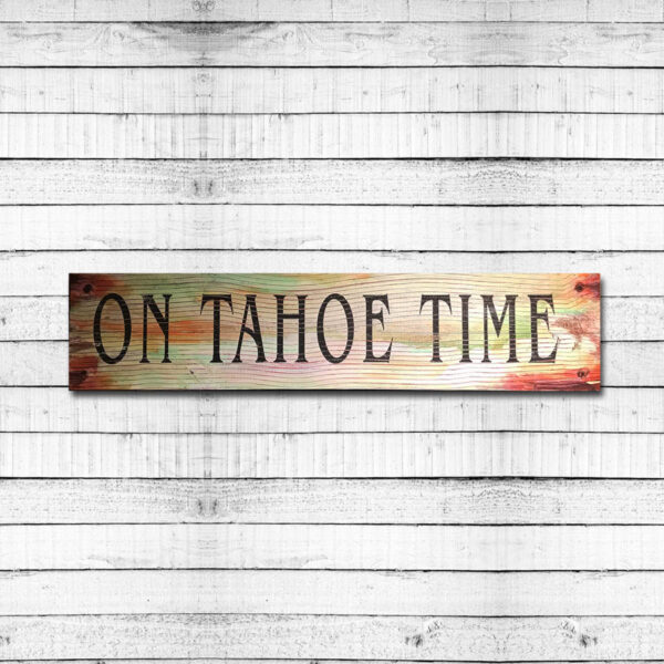 Lake Tahoe Vintage Sign