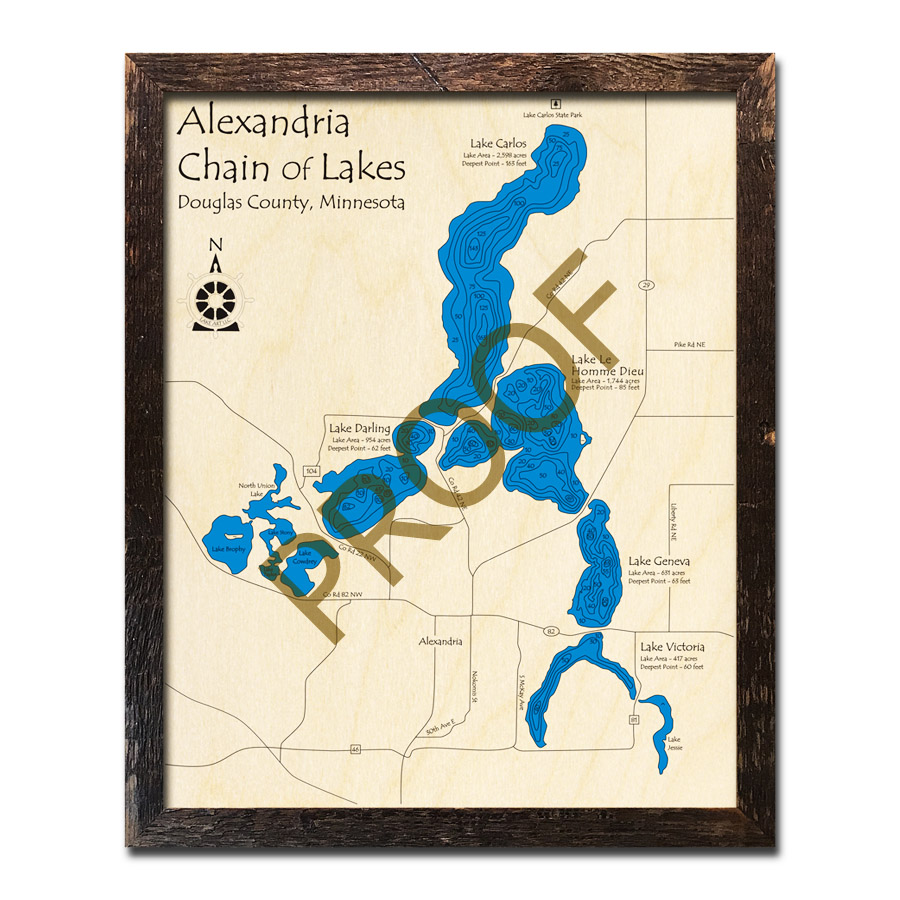 Alexandria Chain of Lakes