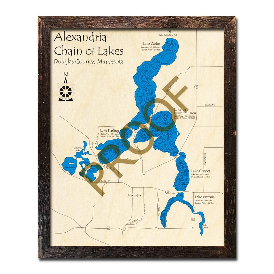 Alexandria Chain of Lakes