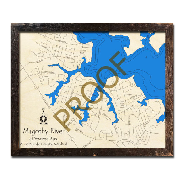 Edgewood Md Read Consumer Reviews Browse: Magothy River, MD 3D Nautical Wood Maps