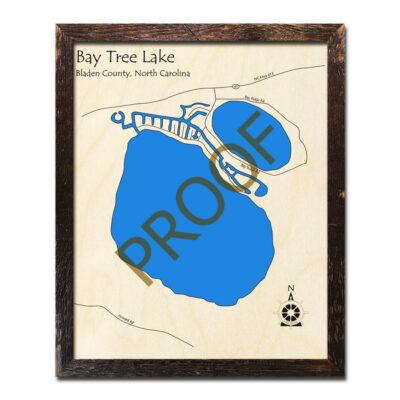 Bay Tree Lake Wood Map
