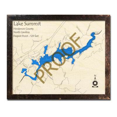 Summit Lake Wood Map