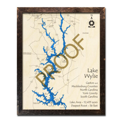 Lake Wylie Wood Map
