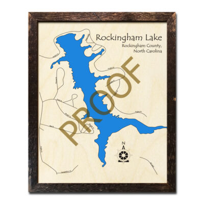Rockingham Lake 3d map