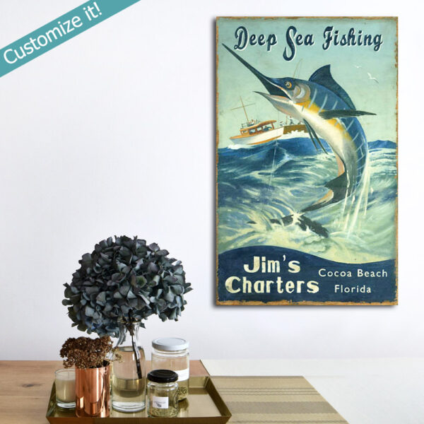 Fishing Gifts, Gift for Fisherman, Fishing Wall Art