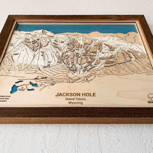 Jackson Hole Resort Map, Ski Slope Map