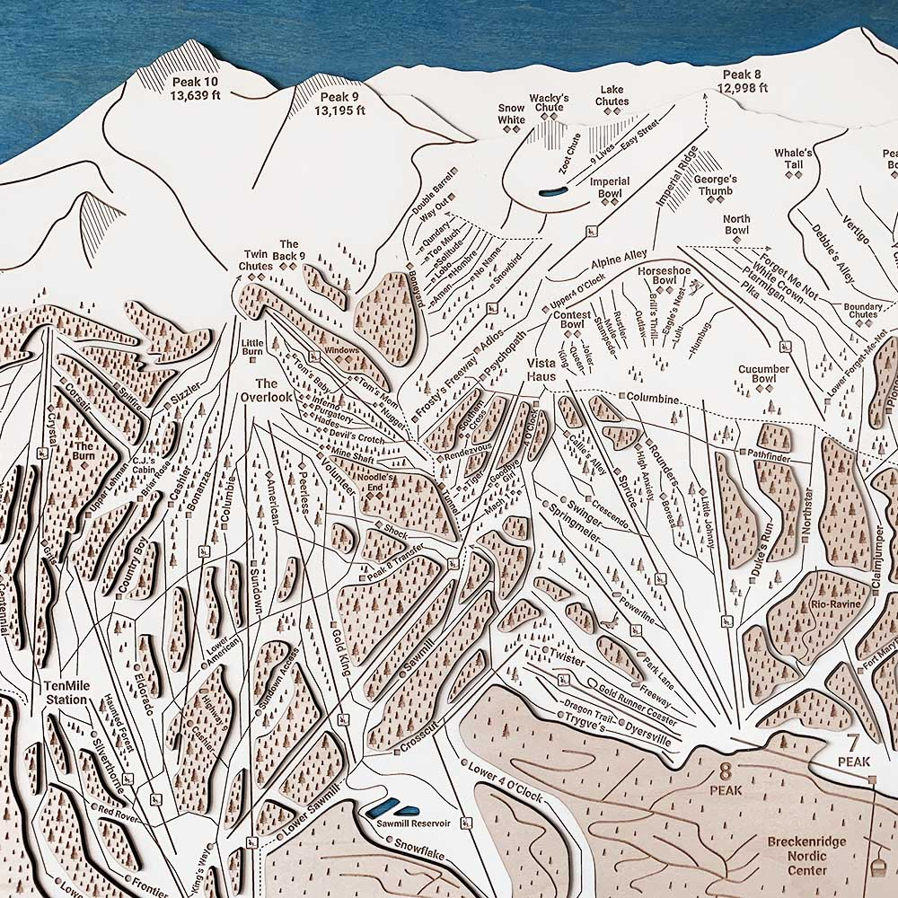 Breckenridge Trail Map 2020