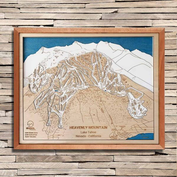 Heavenly Mountain Trail Map, Epic Pass
