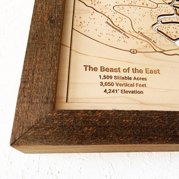 The Beast of the East Killington Sign
