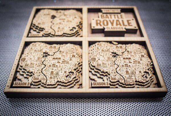 FORTNITE Wooden Map, FORTNITE Fan Art, Season 1-3