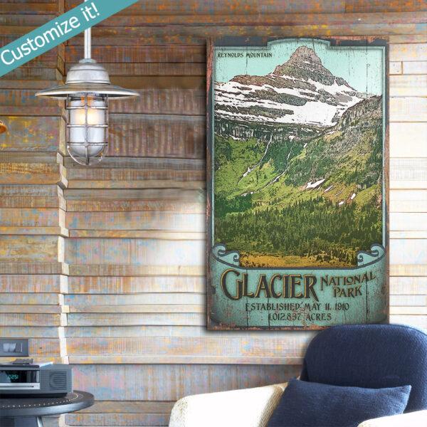 Glacier National Park Wall Art