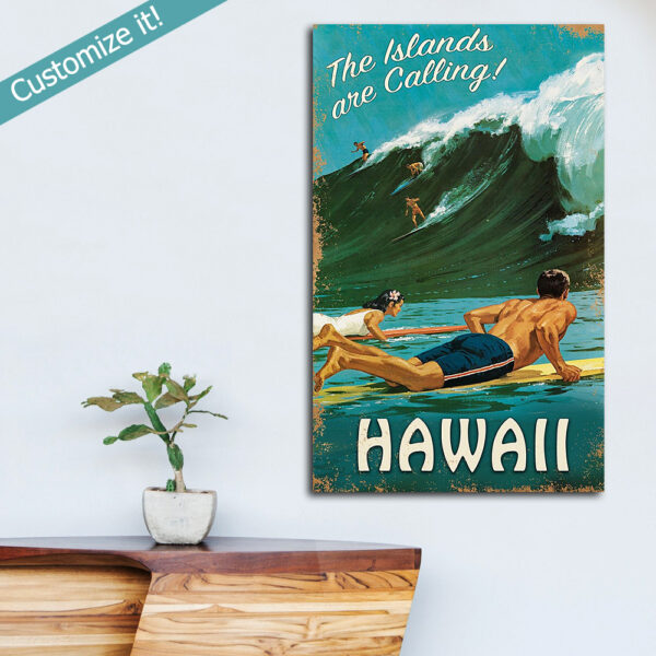 Surfing Wall Art, Surfing Decor