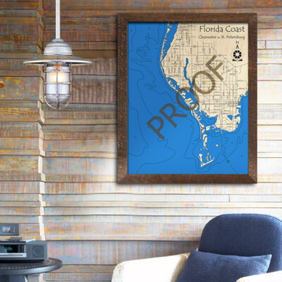 Florida Coast WOod Map