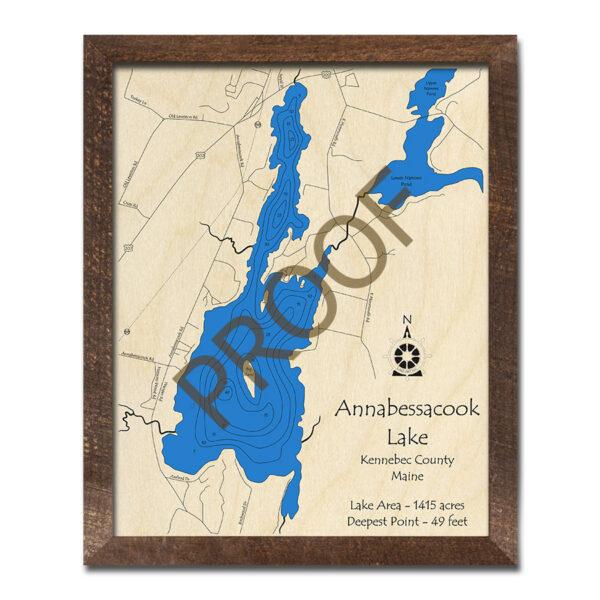 Annabessacook Lake